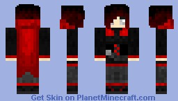Ruby Rose Minecraft Skin