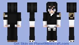 [Simple edit] Rukia Kuchiki | Bleach Minecraft Skin