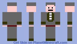 RuneScape Banker Minecraft Skin