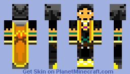 RuneScape Fire Cape Minecraft Skin