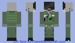Russian Fighter Pilot Minecraft Skin