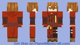 Rutger (Fire Emblem: The Binding Blade) (Hooded in description) Minecraft Skin
