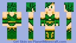 Rydia Minecraft Skin