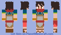Ryoma from Grace of the Gods Minecraft Skin