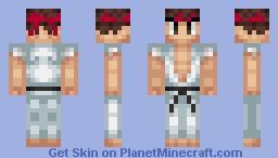 Ryu Minecraft Skin