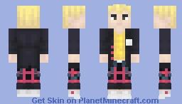 Ryuji Sakamoto Minecraft Skin