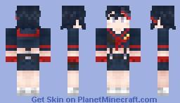 Ryuuko Matoi (Kill la Kill) Minecraft Skin