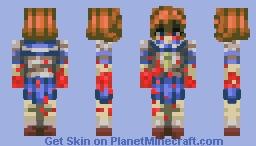Ryuuguu Rena (Higurashi When They Cry) Minecraft Skin