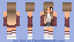 Christina ( Thank you Perfections for the name!) Minecraft Skin