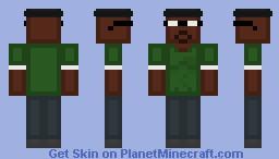 [GTA:SA] Big Smoke Minecraft Skin