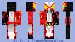 Kamen Rider Saber Brave Dragon 仮面ライダーセイバーブレイブドラゴン Minecraft Skin