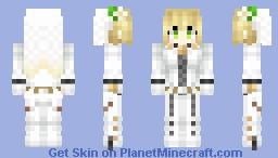 Saber Bride / Nero Bride 「ネロ・ブライド」 Minecraft Skin