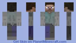 fading steve Minecraft Skin
