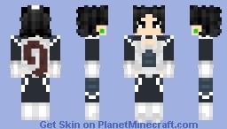 Female Saiyan (Definitely not Kefla) - idk I was bored pt.5 Minecraft Skin