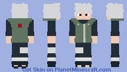 Sakumo Hatake [Jonin] [Naruto] Minecraft Skin