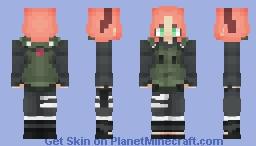 Sakura Haruno [ War Arc ] Minecraft Skin