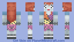 [Nightmare Before Christmas] Sally Minecraft Skin