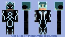 Sam Flynn (tron Legacy) Minecraft Skin