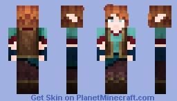 Elvin Adventurer (teen eyes variant as well) Minecraft Skin