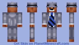 Sam (Sam & Max) Minecraft Skin