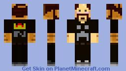 Wondercraft - Notch (without hat) Minecraft Skin
