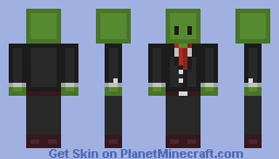 Zombie Blade Minecraft Skin
