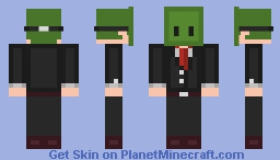 Zombie Mask Blade Minecraft Skin
