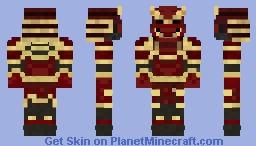 Samurai Armor Minecraft Skin