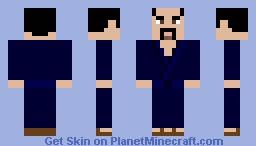 Samurai in Gi Minecraft Skin