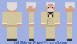 Colonel Sanders(No Glasses) Minecraft Skin