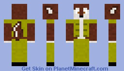 Fur in Military Minecraft Skin