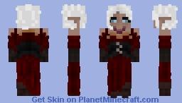 Vampire Female - Head Unfinished (Do not use on Massivecraft) Minecraft Skin