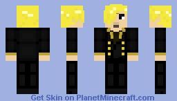 Vinsmoke Sanji Minecraft Skin