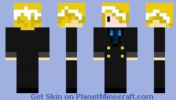 One Piece Sanji Minecraft Skin