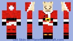 Alpaca Santa Minecraft Skin