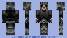 The Skeleton Lord Minecraft Skin