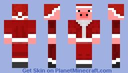 Santa's Lil Piggy! Minecraft Skin