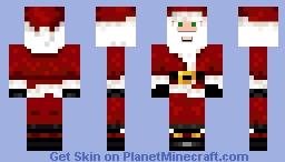 Santa Swedenstyle34 FullHD Version Minecraft Skin