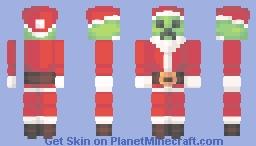 Santa Creeper Minecraft Skin