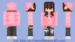 JASMAYNE - hip hop pink Minecraft Skin