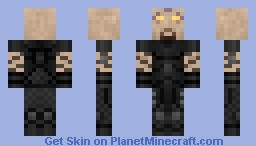 Sarevok Anchev without helmet [Baldur's Gate Rogues' Gallery] Minecraft Skin