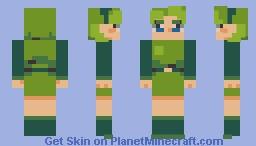 Saria - The Legend of Zelda: Ocarina of Time Minecraft Skin