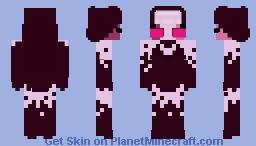 sarvente demon (friday night funkin mod) Minecraft Skin