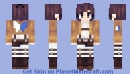 sasha // aot Minecraft Skin