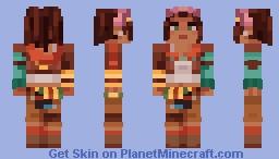 Tales from the Borderlands | Sasha Minecraft Skin