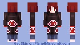 𝓢𝓪𝓼𝓸𝓻𝓲 | 𝓝𝓪𝓻𝓾𝓽𝓸 𝓢𝓱𝓲𝓹𝓹𝓾𝓭𝓮𝓷 🎭 Minecraft Skin