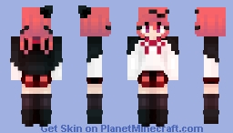 Satania - Skintober Day 2 Minecraft Skin