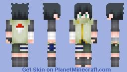 Naruto OC: Sataro Uchiha (内葉佐太郎) [requested by Satoshinee] Minecraft Skin