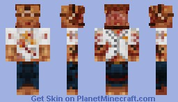 Twisted Saw Trapman Minecraft Skin