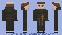 Saxon Monk Minecraft Skin
